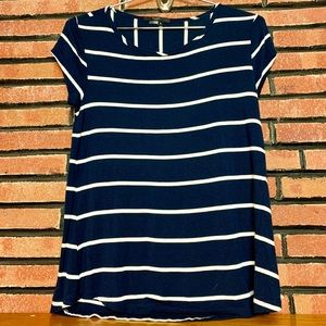 TART Striped Short Sleeve Top SZ-S